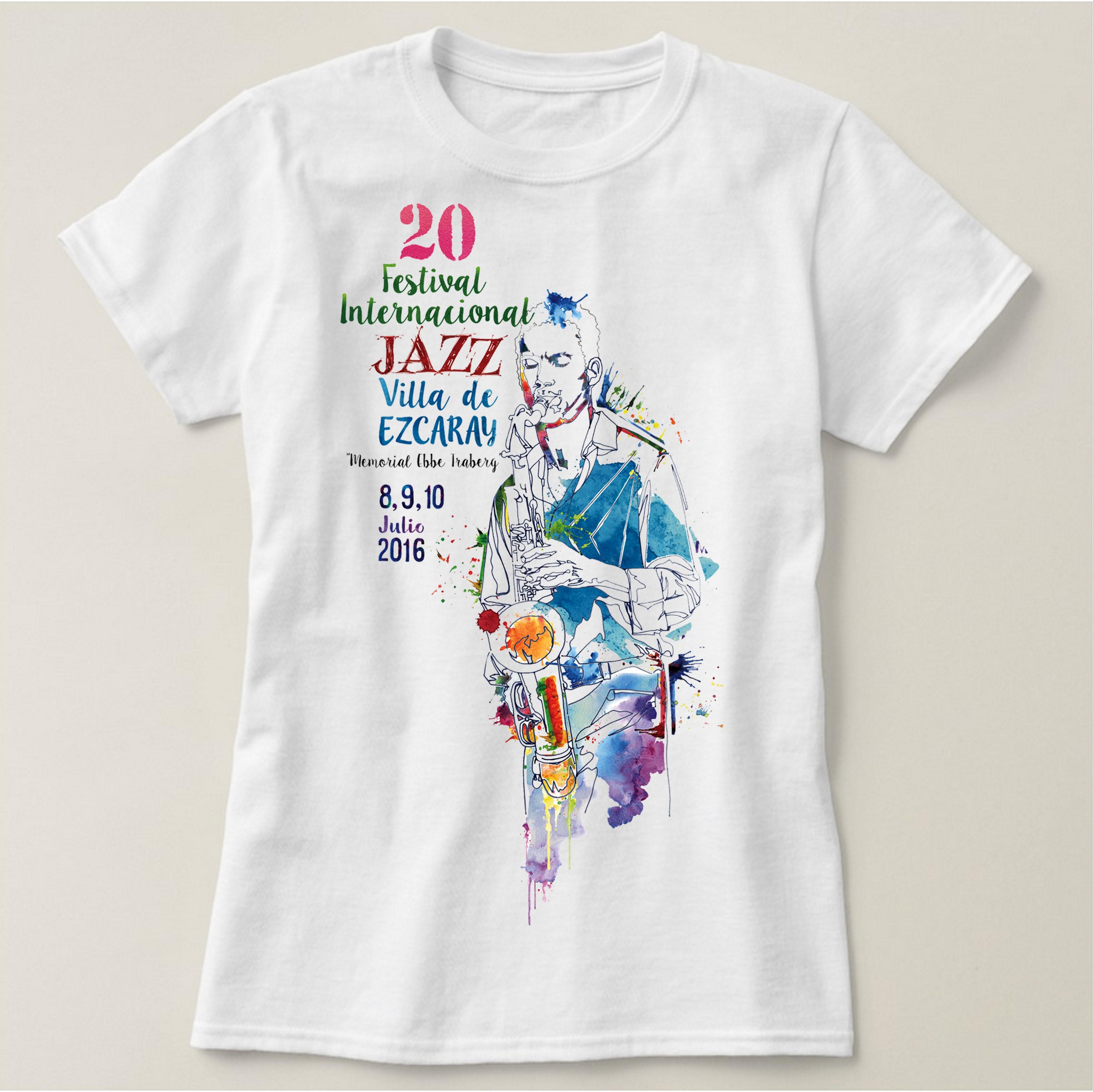 Camisetas del 20 aniversario del Festival